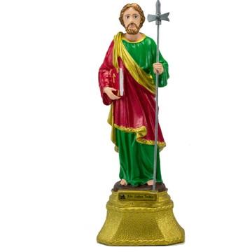 São Judas Tadeu Inquebrável De Borracha (37 Cm)