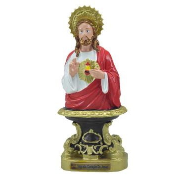 Sagrado Coração de Jesus para Mesa inquebrável (25 Cm)