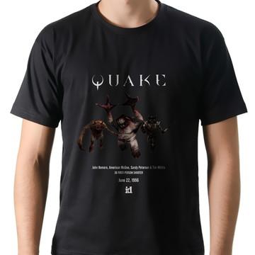 Camiseta Geek Games Quake