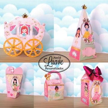 kit festa infantil Princesa Cute