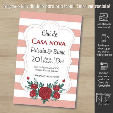 Convite digital Casa nova 3