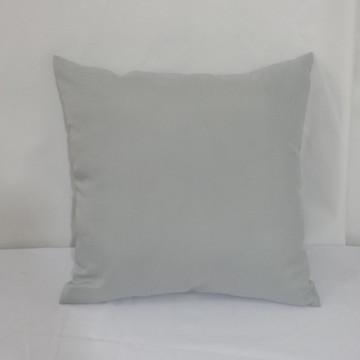 Capa de almofadas lisa cinza 45 x 45