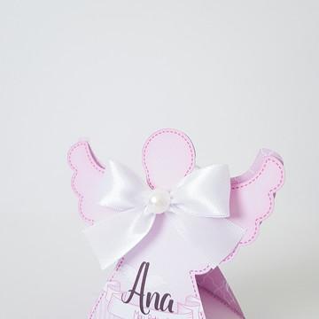 Caixa Anjo - Tema Batizado menina