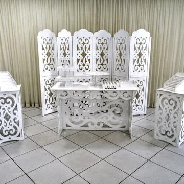 Aluguel mesa arabescas