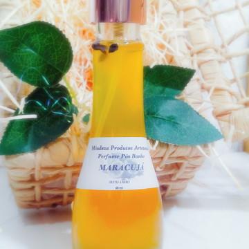 Perfume pós Banho Maracujá e Extrato de cenoura