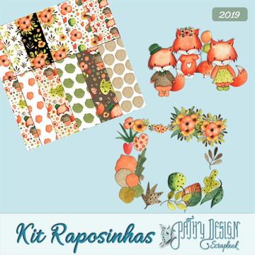Kit Digital Raposinhas