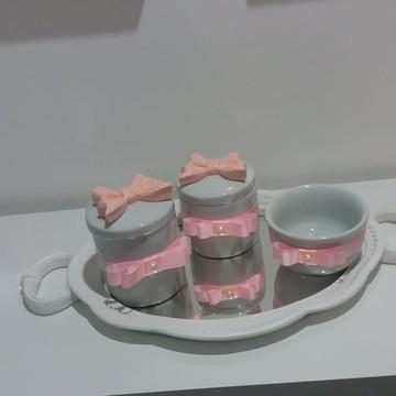 Kit Higiene Personalizado de Porcelana