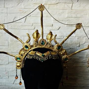 Headpiece Rainha do Egito - Dourada