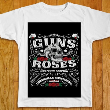 Camiseta Rock Guns Roses