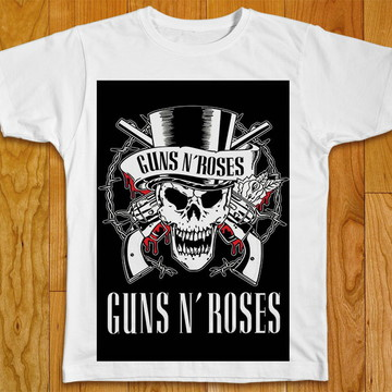 Camiseta Rock Guns N Roses
