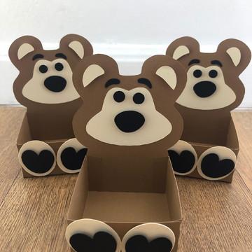 Caixa Urso - Masha e o Urso