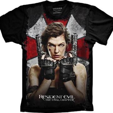 Camiseta Resident Evil The Final