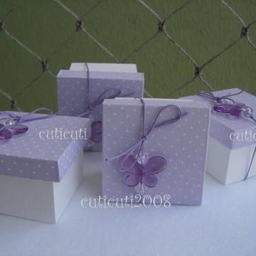 Caixinha mdf borboletinha lilás