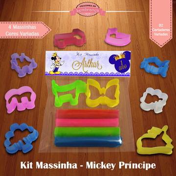 Kit Massinha - Mickey Príncipe