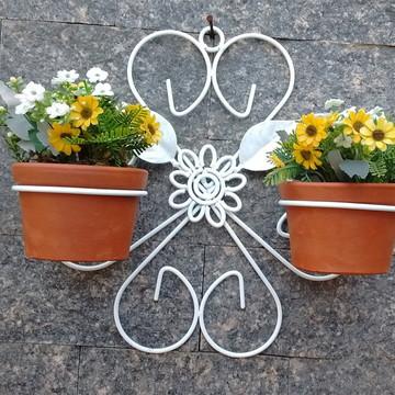 Suporte Para Plantas Trevo (2 Vasos)