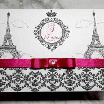 Convite 15 anos Paris