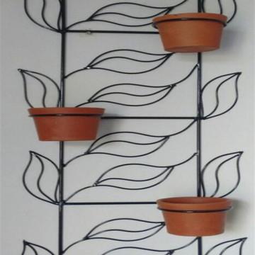 Suporte Para Plantas Folhas para 5 Vasos