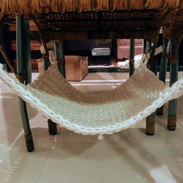 Rede de Cadeira Maxi Crochê