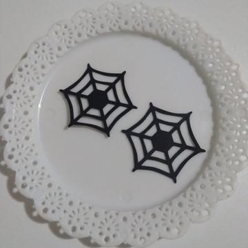 aplique teia de aranha