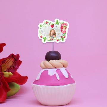 2438fedb2 Toppers para doces c  foto - moranguinho