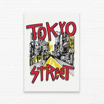 Quadrinho 19x27 Tokyo Street
