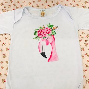 Body bebe flamingo