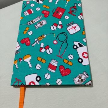 Caderno saúde-cartonagem