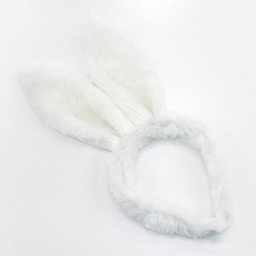 Tiara arco orelha coelho da páscoa