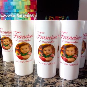 10 Long Drink Branco Personalizado - Foto Francisco