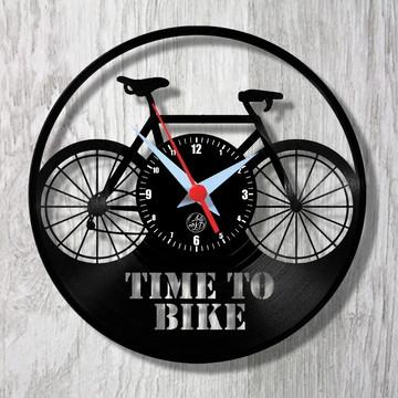 Time to Bike - Relógio de Parede