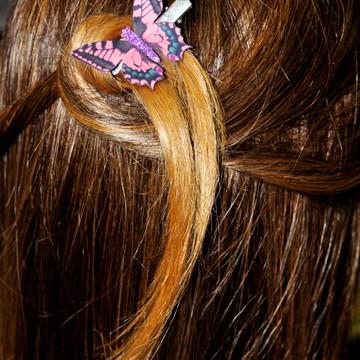 Presilha de cabelo Borboleta Diva