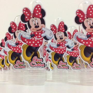 10 Lembrancinhas Personalizadas Minnie Mouse Vermelha