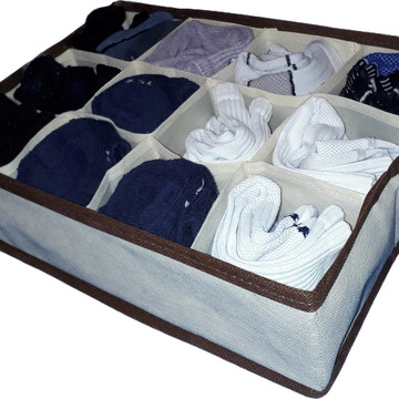 Organizador de gaveta com 12 nichos