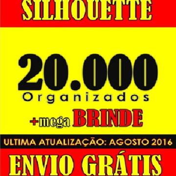 20000 arquivos para silhouette studio