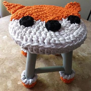Capa de banqueta raposa com patas