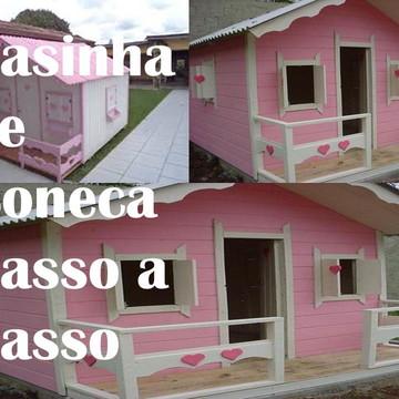 Projeto De Casinha De Boneca Passo A Passo + Bônus !!!
