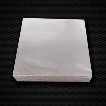 100 Tapetinho forminha celofane quadrado 8 cm transparente
