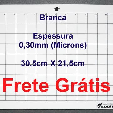 3 Bases de Corte Cameo 30x21 0,30mm Branca Com Cola+ FRETE