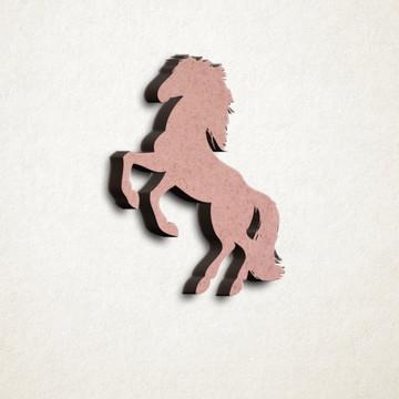 Aplique/Recorte/Pingente - laser – cavalo