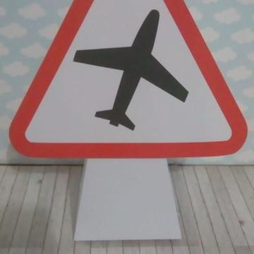 Caixa placas aeroporto Super Wings