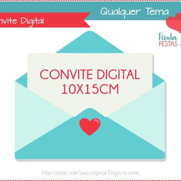Convite Digital Novo Tema