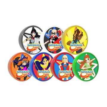 Latinhas SUPER HERO GIRLS personalizadas