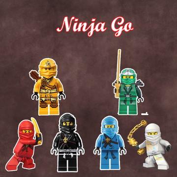 Apliques / Recortes - Lego Ninjago