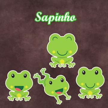 Apliques / Recortes - Sapo / Sapinhos