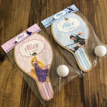 Kit Raquetes de ping pong, Rapunzel e Flynn Enrolados
