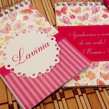 Kit de Bloquinho com Lápis Personalizado*