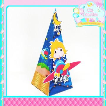Caixa Pirâmide Pequeno Príncipe