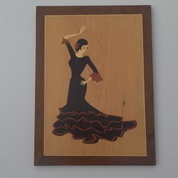 """""""Flamenco"""" - Quadro de Marchetaria"""