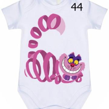 Body Infantil Personalizado Alice #44 (colocamos o nome)