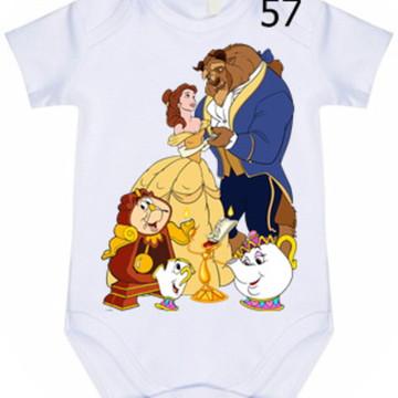 Body Infantil Personalizado Bela #57 (colocamos o nome)